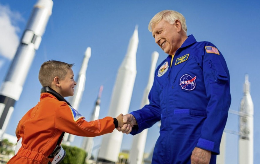 Jon McBride, Decorated Navy Captain and Veteran NASA Astronaut, Announces Retirement from Kennedy Space Center Visitor Complex